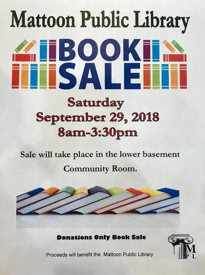 Mattoon Public Library Annual Book Sale