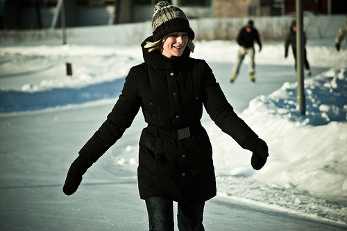 395 Skaters Set World Record For Human Chain Formed On Frozen River