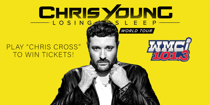 Feature: https://www.myradiolink.com/2018/10/10/chris-cross-to-win-chris-young-tickets/
