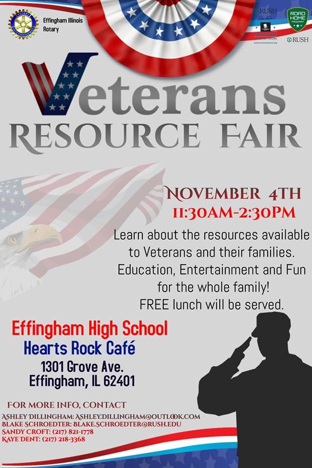 Veteran's Resource Fair in Effingham