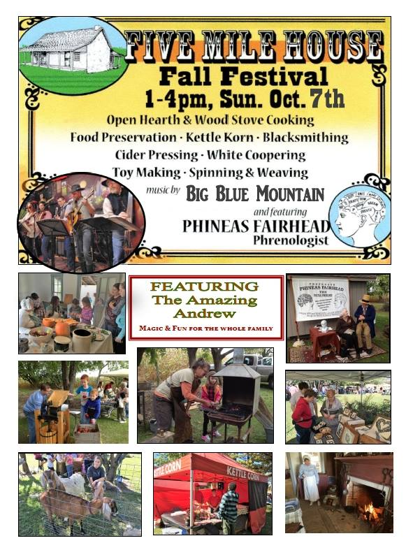 Free Fall Festival at Five Mile House