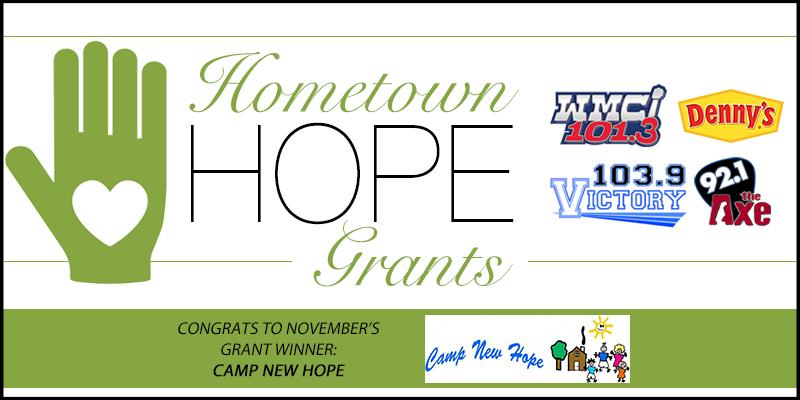 November's Hometown HOPE Grant Winner
