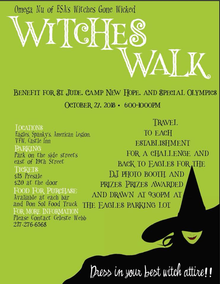 Witches Walk 2018 in Mattoon