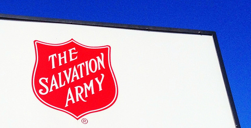 The Salvation Army Red Kettle kick-off