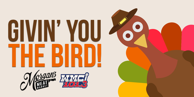 """Givin' You the Bird!"" on 101.3 WMCI"