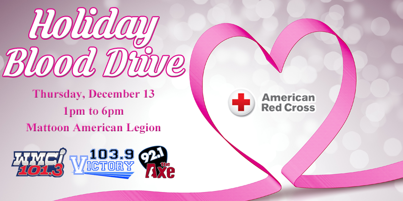 Feature: https://www.myradiolink.com/2018/11/21/holiday-blood-drive-2018/