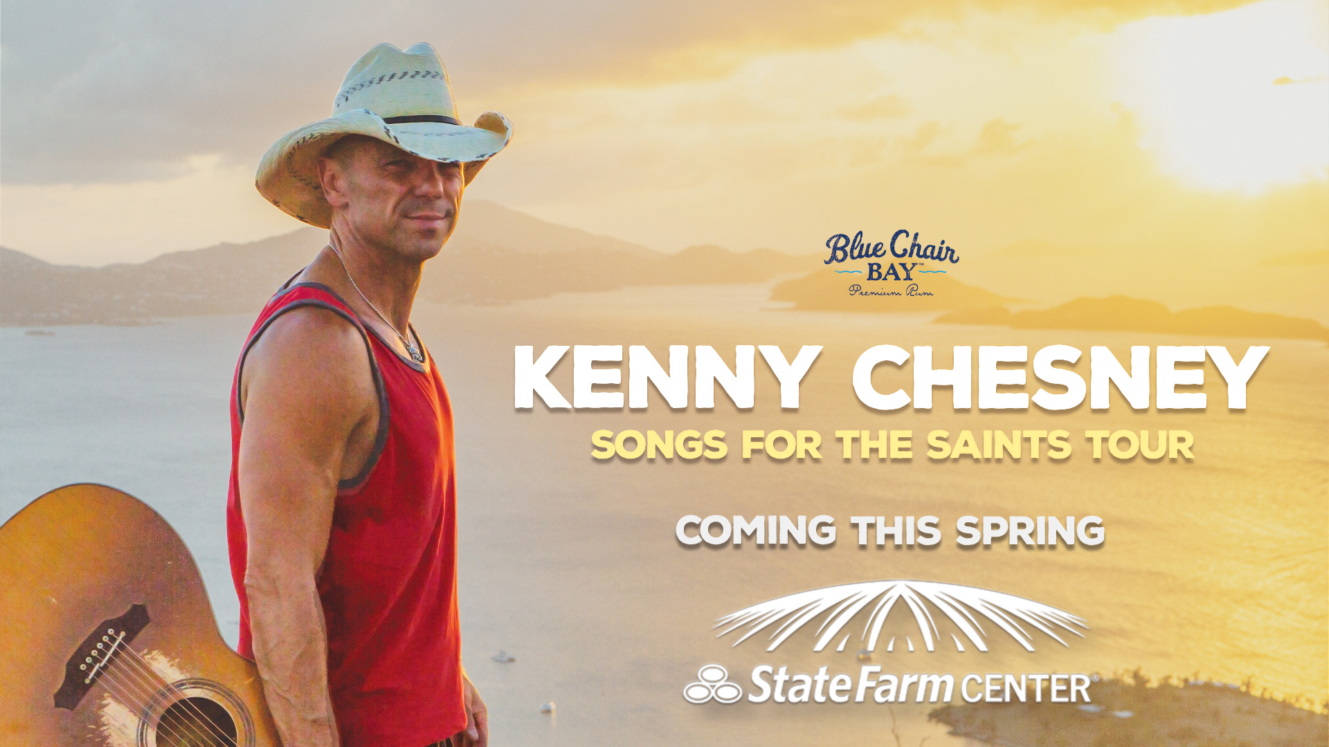 Kenny Chesney to Play State Farm Center