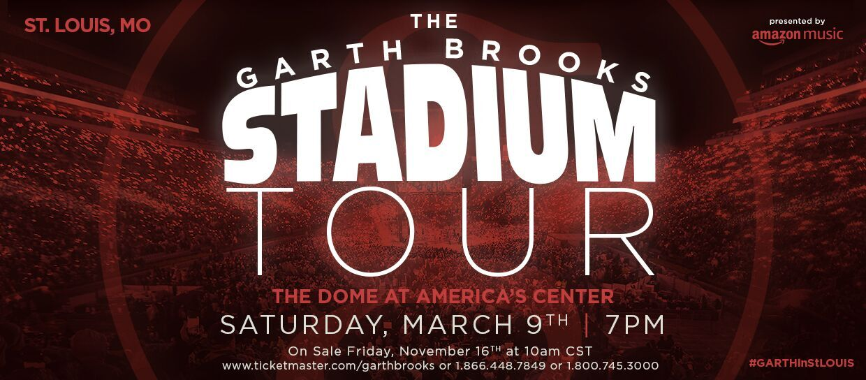 Garth Brooks to play St. Louis