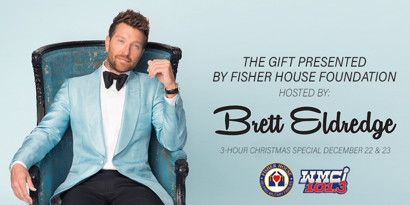 Feature: https://www.myradiolink.com/2018/12/17/brett-eldredge-christmas-special/