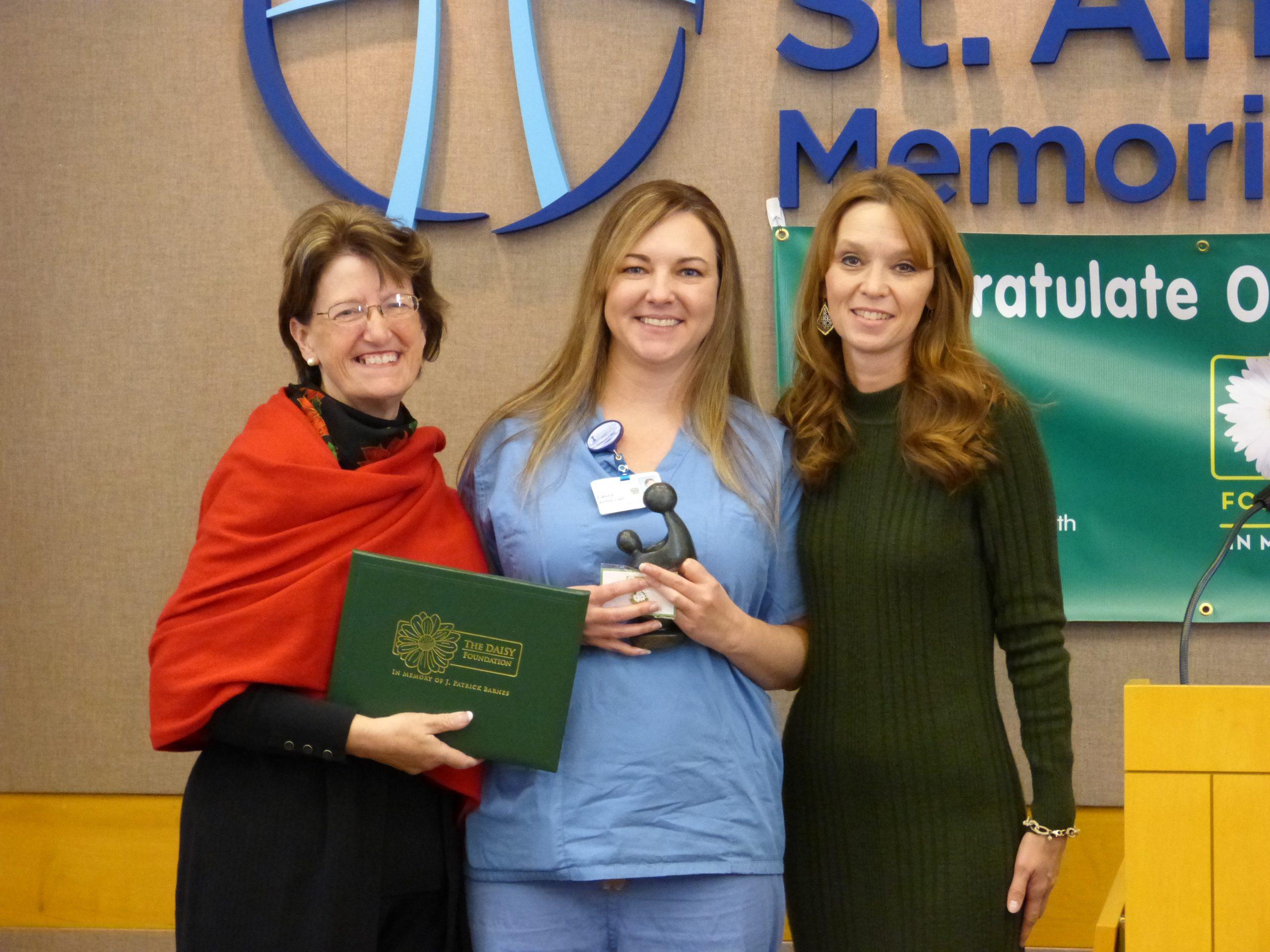 HSHS St. Anthony's Memorial Hospital honors nurses with inaugural DAISY Awards