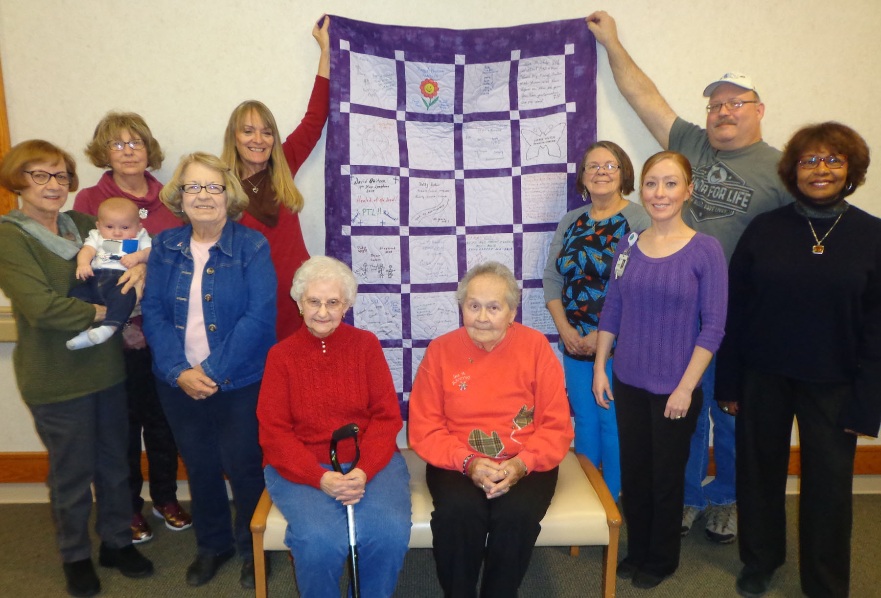 'Hope Quilt' to be Displayed at Horizon Health