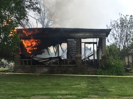 Fire Destroys Edgewood Home Built in 1800's
