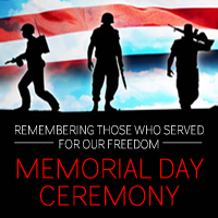 Disabled American Veterans Chapter 7 and Ladies Auxiliary to Host Memorial Day Ceremony