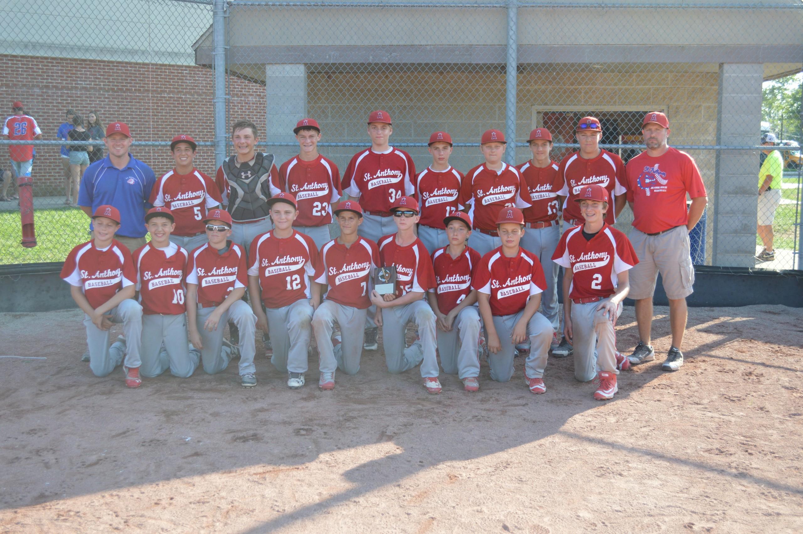 Junior High Baseball- Aug 26-28