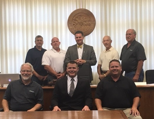Effingham City Council Meets New Police Officer Trey Dasenbrock; Moves Forward With Triangle Business District and New Police Station