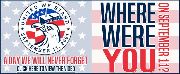 """""""Where Were You?"""" September 11th Remembrance Video"""