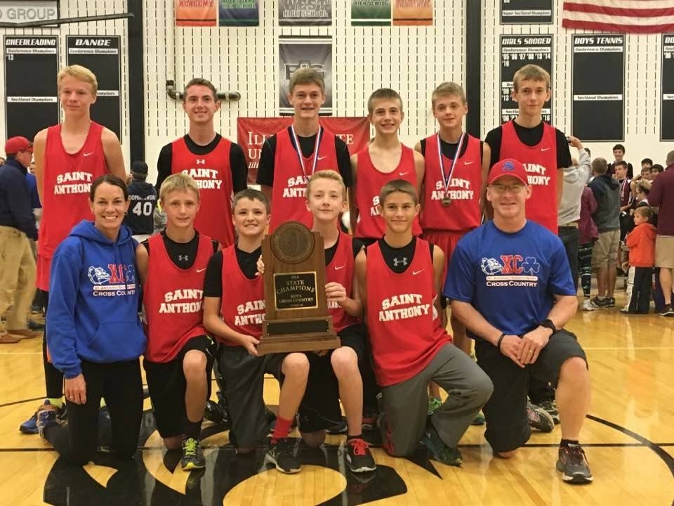 St. Anthony win IESA State Cross Country Meet