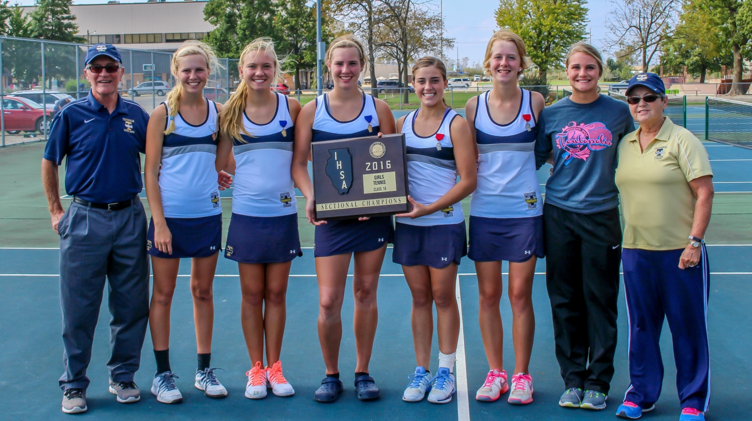 Teutopolis Wins Tennis Sectional