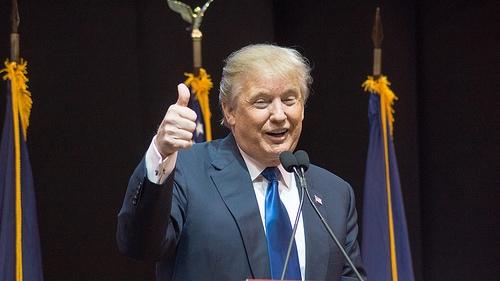 Donald Trump Casts Vote In Manhattan