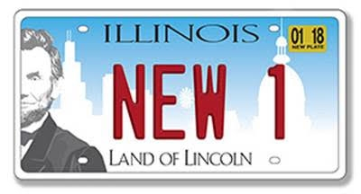 Illinois License Plate Replacement Program Launching in January