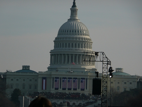 Trump, Obama Are At Capitol For Inauguration