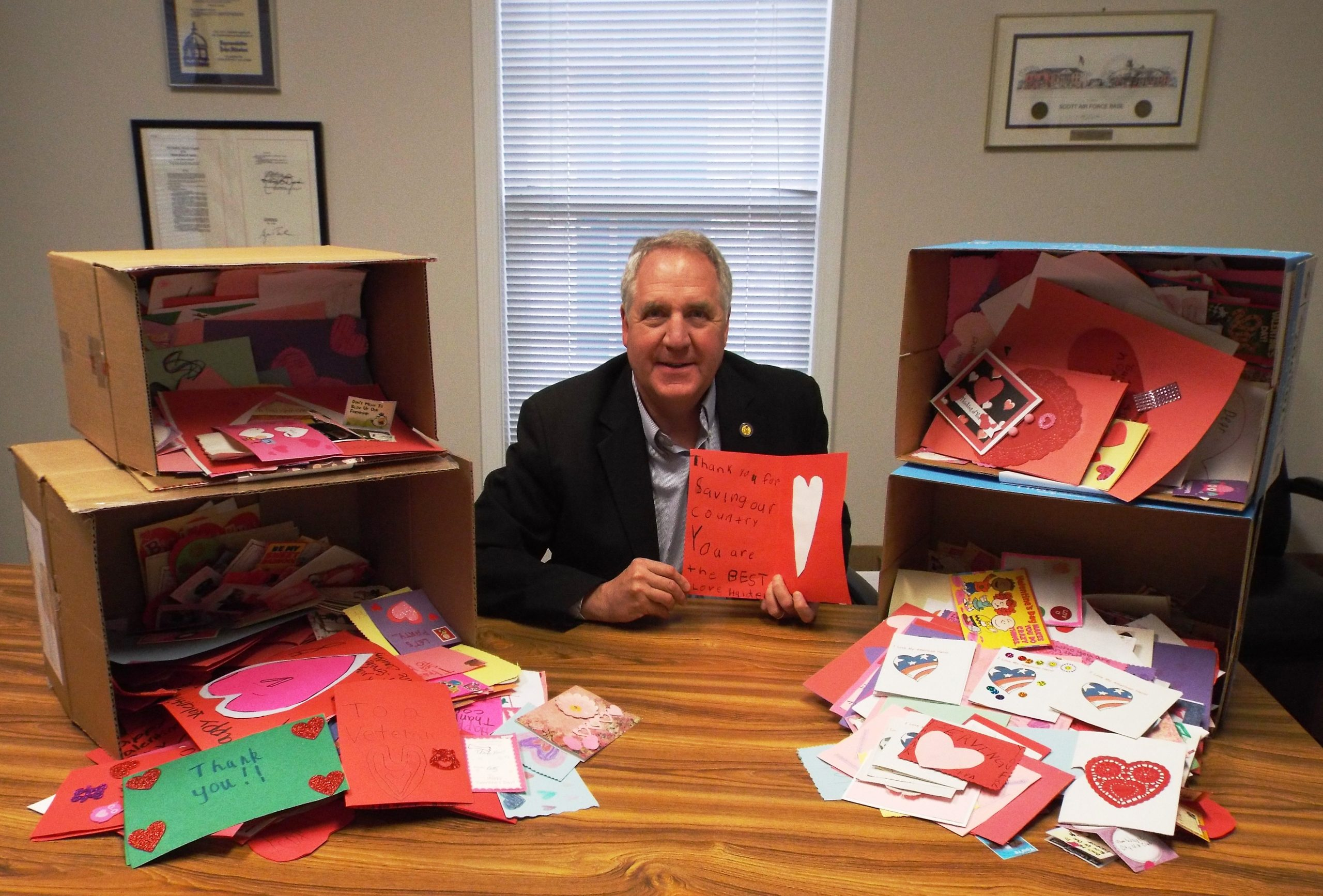 "Last Week for ""Valentines for Heroes"" Program"