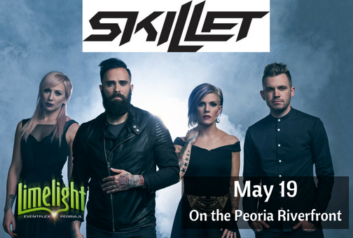 Rock Band Skillet Coming to Peoria