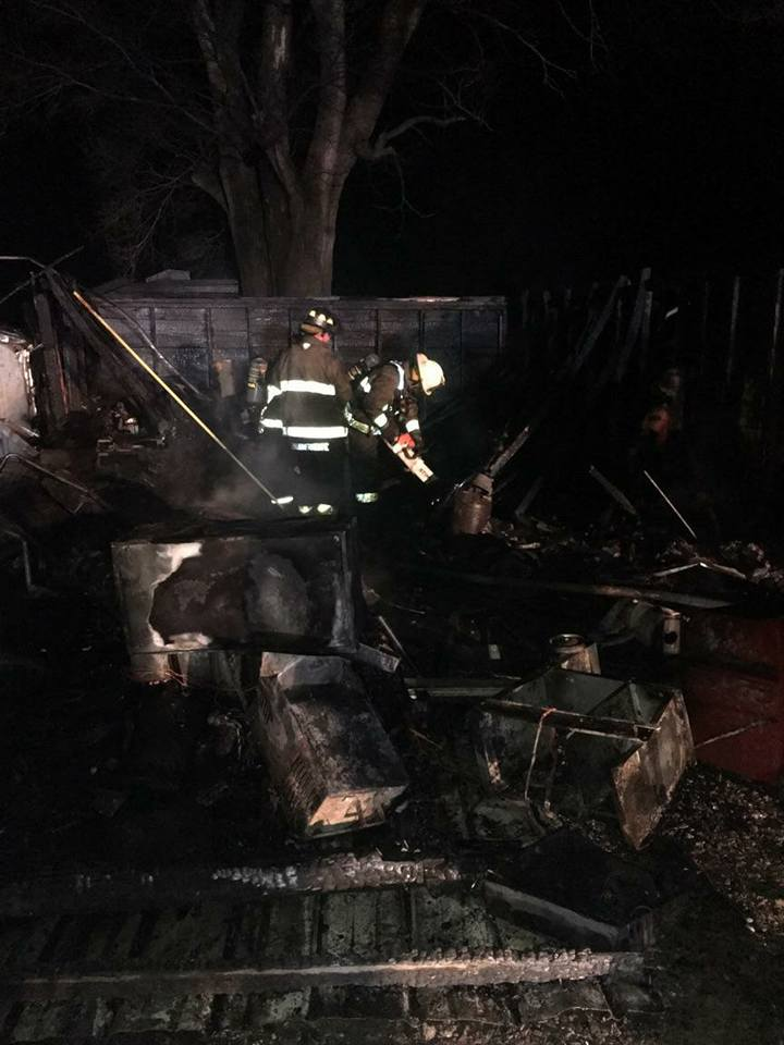 Watson Fire Department Extinguishes Garage Fire Friday Morning