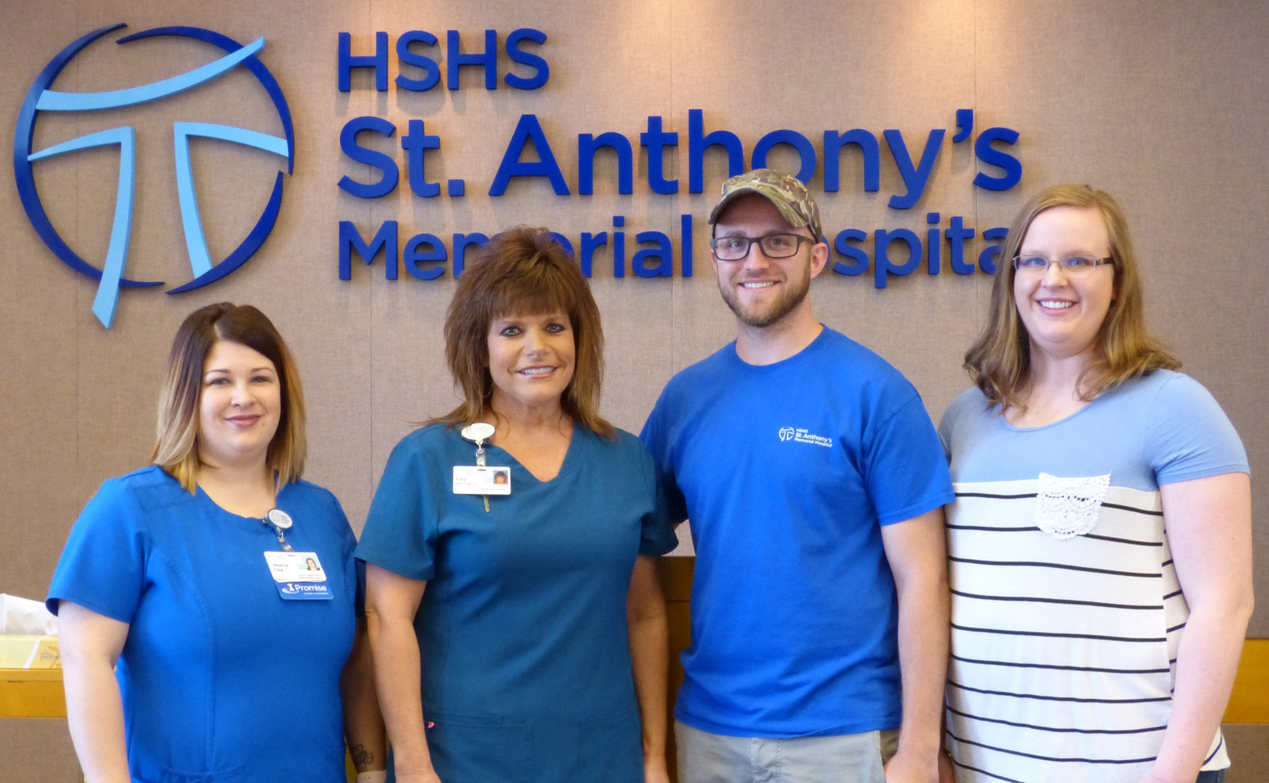 "HSHS St Anthony's Memorial Hospital Awards Four with ""I Promise"" Awards"