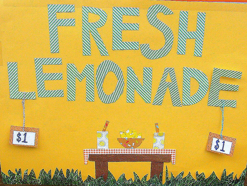 Washington Savings Bank Offering Lemonade Stand Summer Program