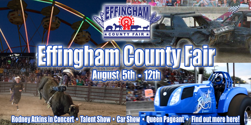 95.7 WCRC Live at Effingham County Fair