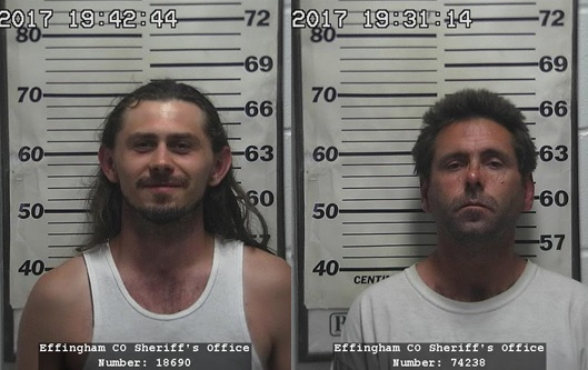 Two Effingham Men Arrested In Connection With Banker Street Vehicle Burglaries