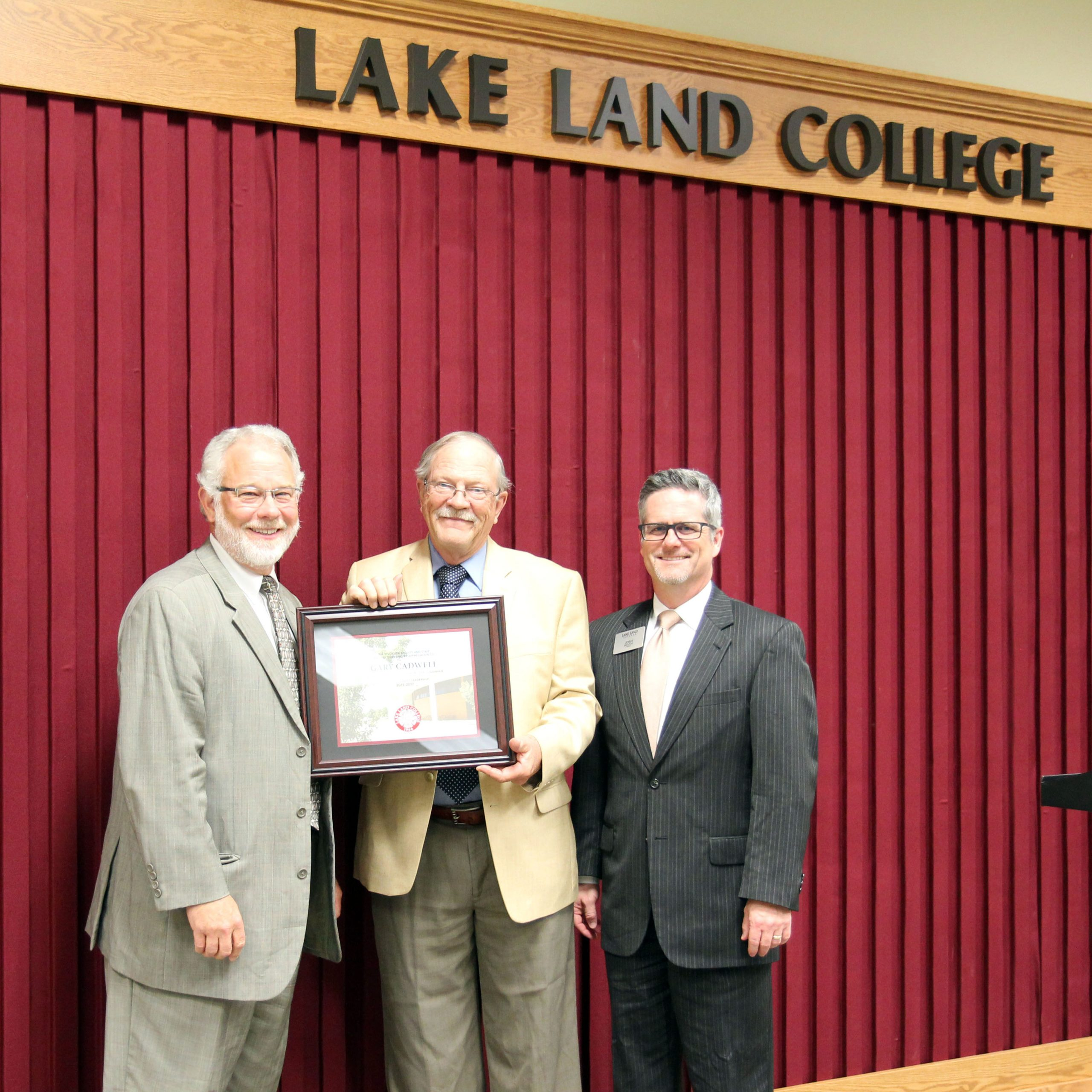 Officers Elected for Lake Land Board of Trustees