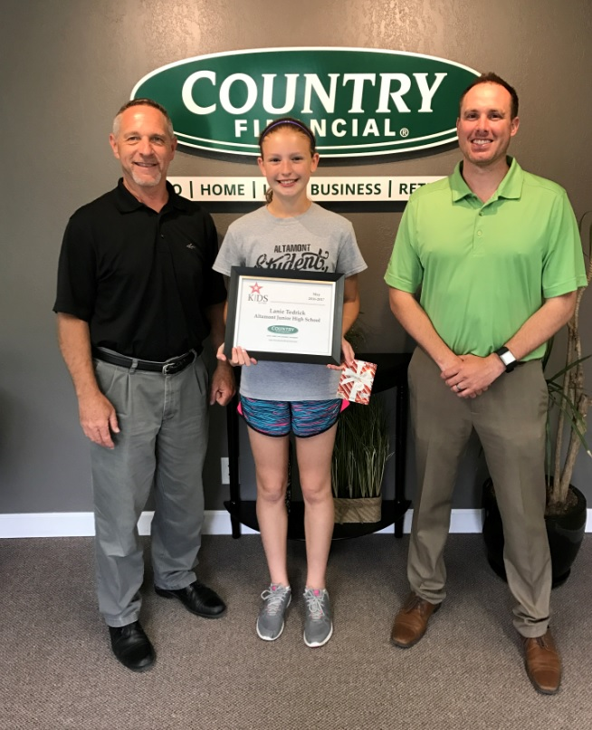 Altamont High School Student Awarded May Kids Have Talent Award