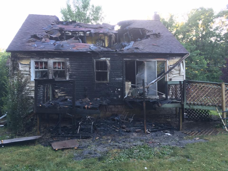 Effingham Home Destroyed in Fire on Saturday