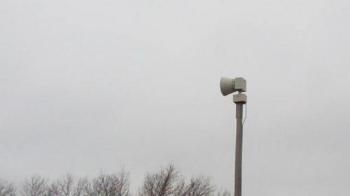 Monthly Outdoor Siren Test to be Held Wednesday