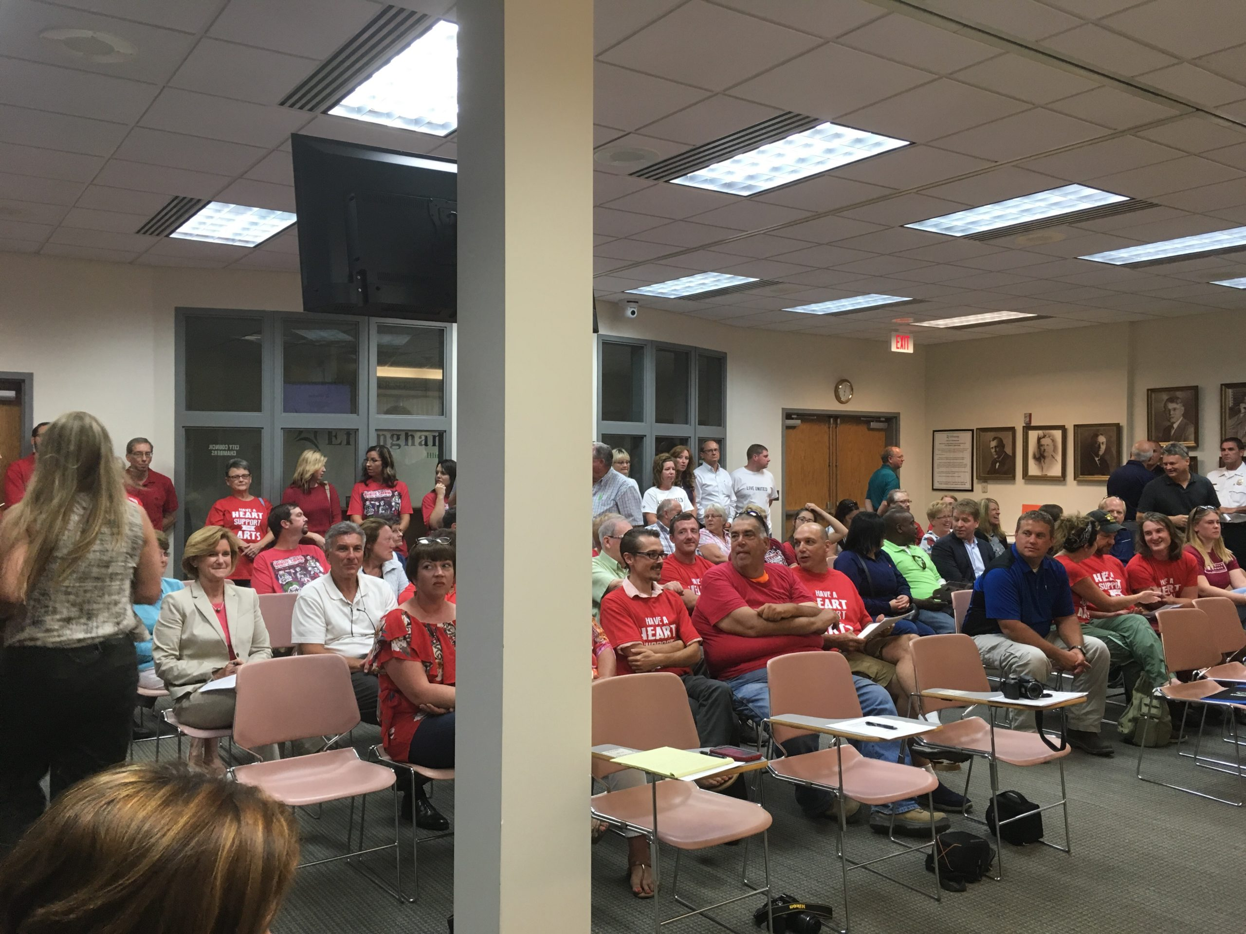 Residents Attend Effingham City Council Meeting in Opposition to Amusement Tax