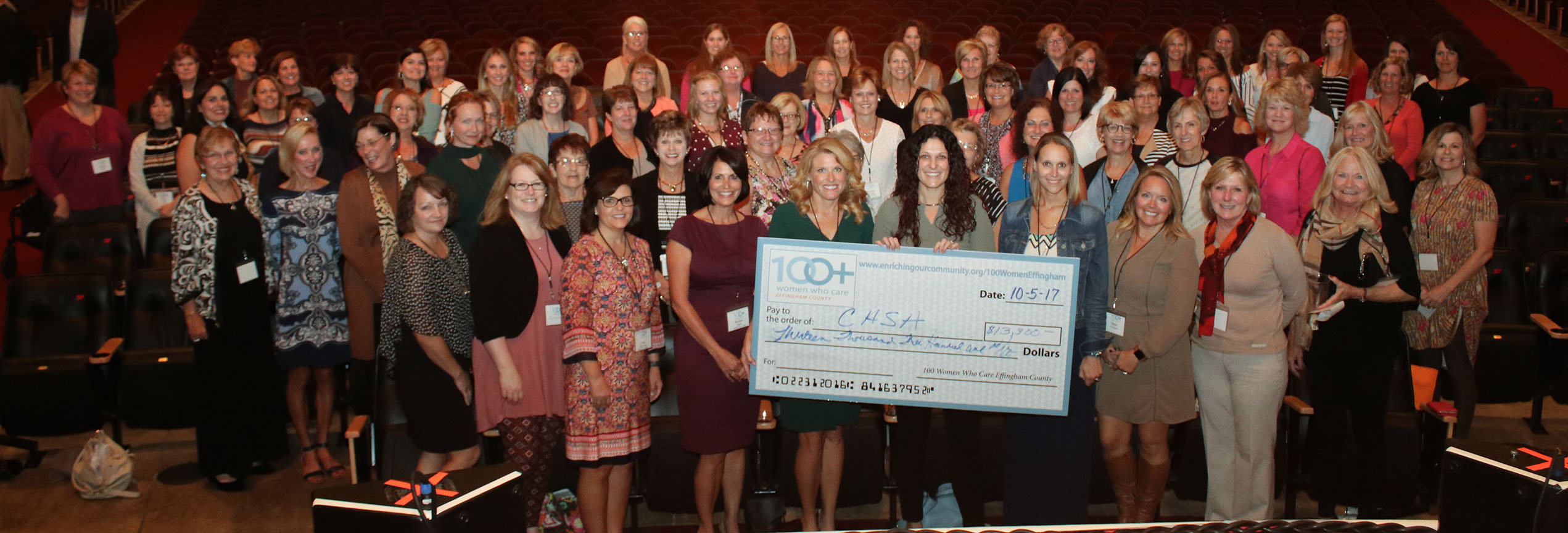 100+ Women Who Care Effingham County Contributes $13,200 to CASA of Effingham County