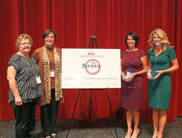100+ Women Who Care Effingham County Receives Richard C. Siemer Outstanding Philanthropy Award