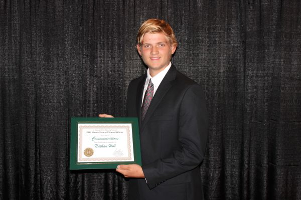 Effingham County's 4-H Member, Nathan Hill, Was Selected as a Winner for 2017 State 4-H Awards in Illinois