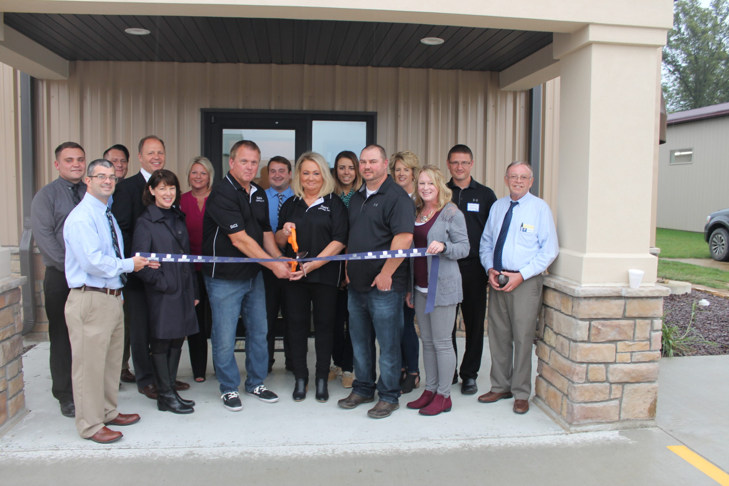 Effingham County Chamber of Commerce Holds Ribbon Cutting for Deb's Catering and Vending