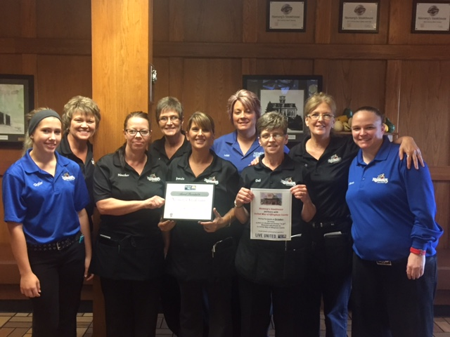 Niemerg's Steakhouse Partners With United Way of Effingham County