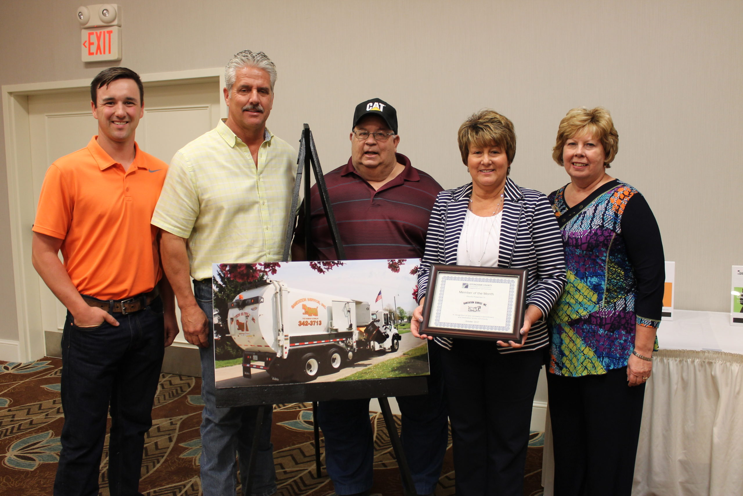 Effingham County October Member of The Month Recipient Recognized