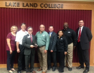 Lake Land College Recognized by the Illinois Public Risk Fund