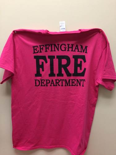 Effingham FD Goes Pink for Breast Cancer