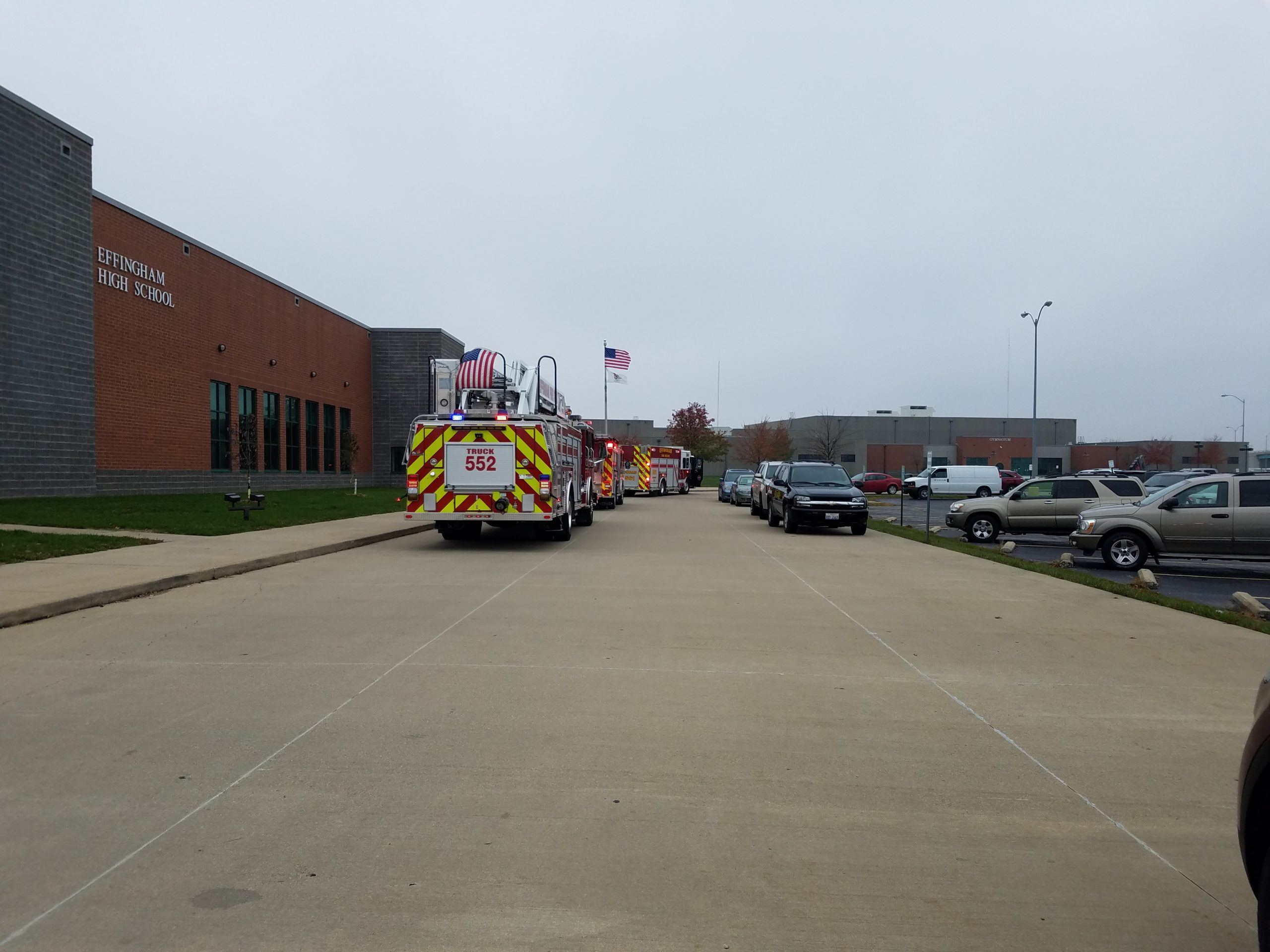 [UPDATE 12:17 p.m.] ***BREAKING: Smoke Incident Results in EFD, EMS, and EPD at Effingham High School (SOUND BITE)