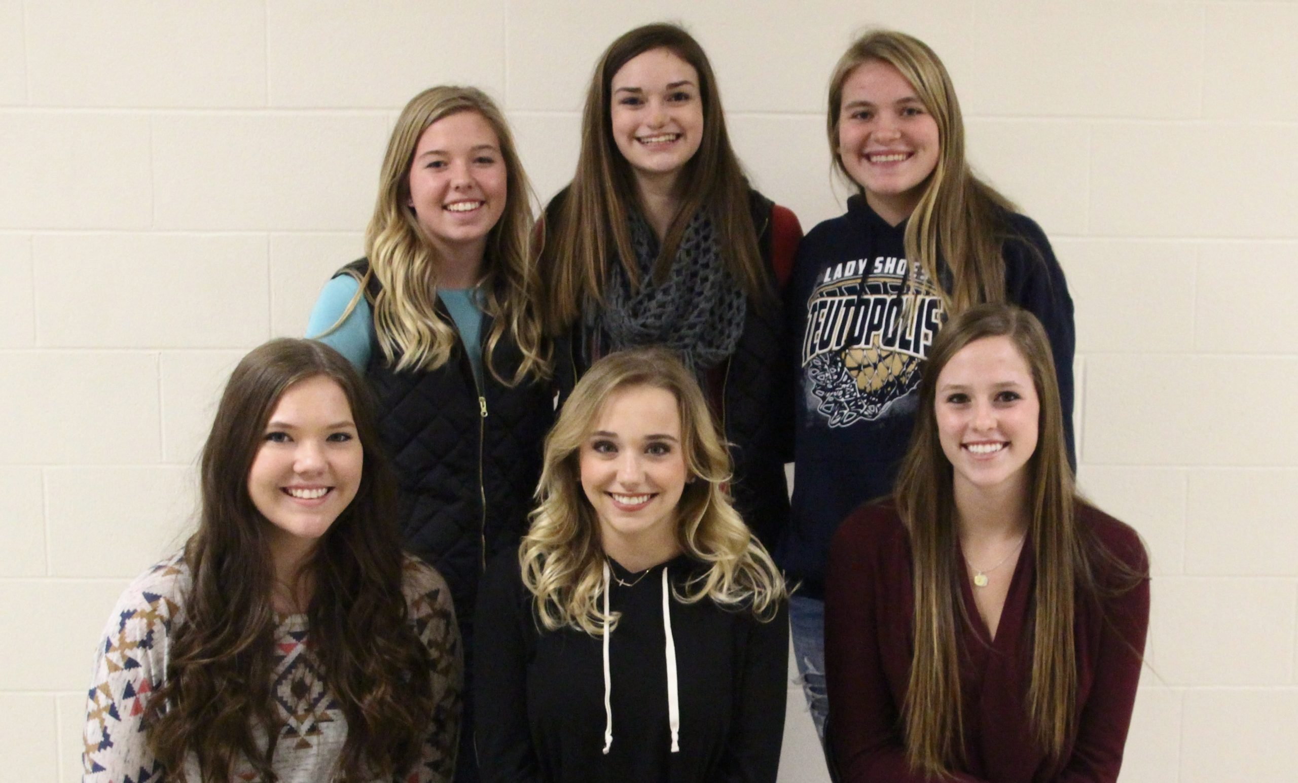 Homecoming Attendants/Queen Candidates Announced for Teutopolis High School