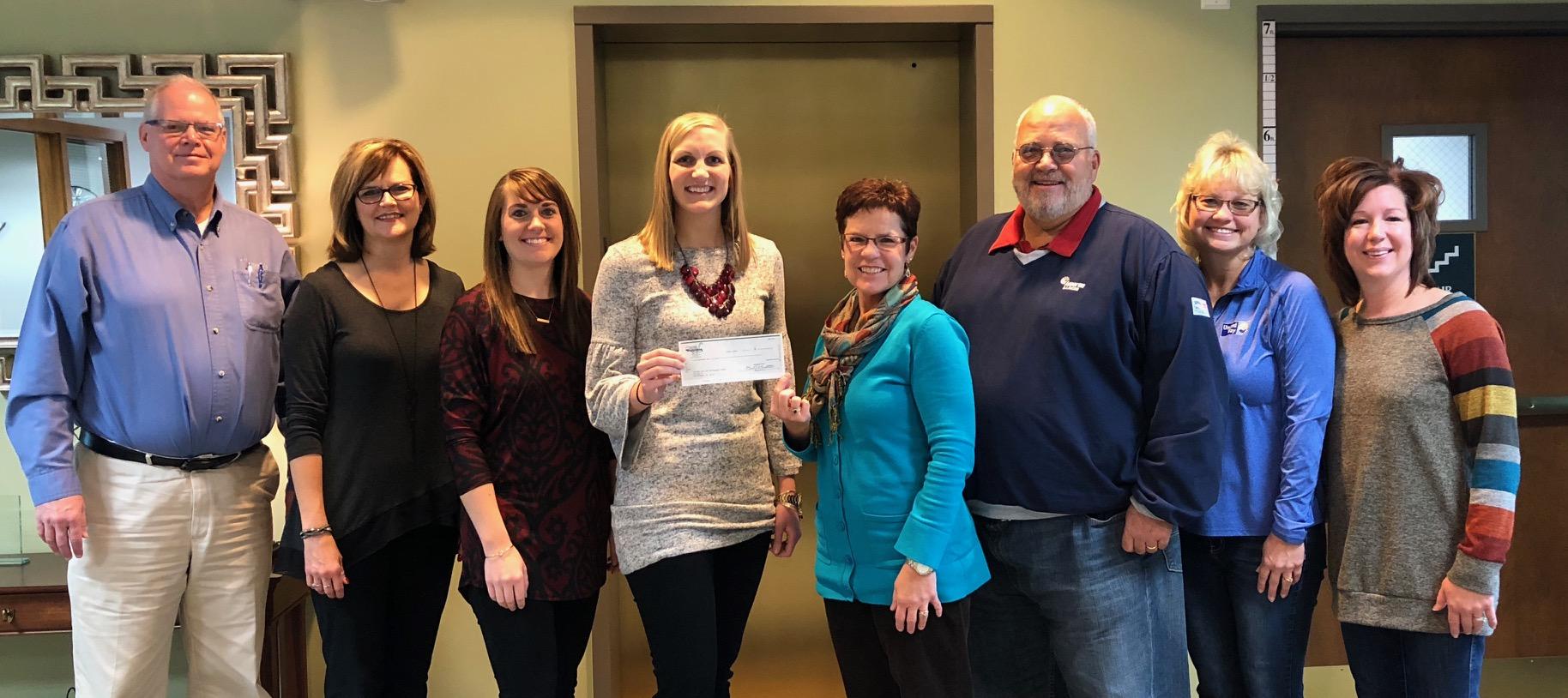 Washington Savings Bank donates to United Way of Effingham County