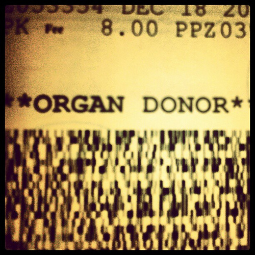 White Expands Organ/Tissue Donor Registry; 16- and 17-Year-Olds Can Become Donors as of Jan. 1