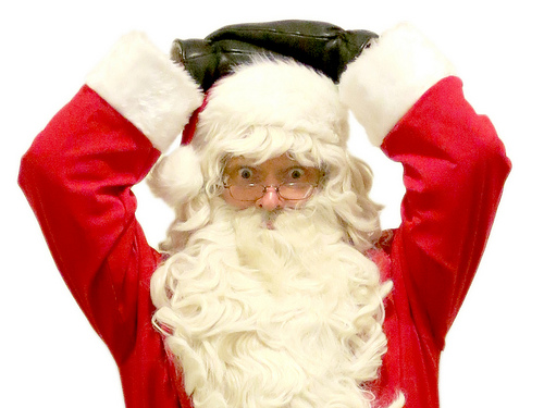 27th Annual Breakfast with Santa Today in Newton
